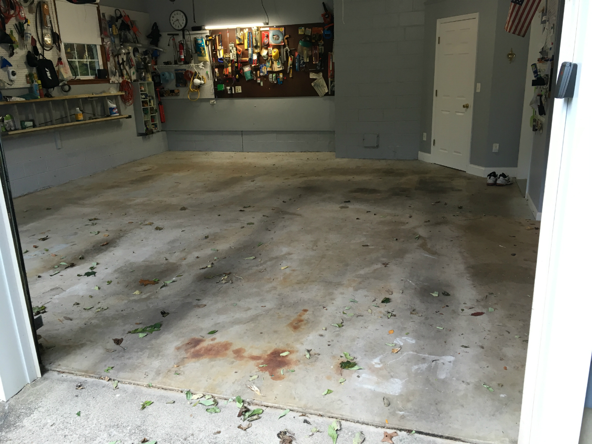 Cement Floor Epoxy Coating : Epoxy your concrete floor armorgarage