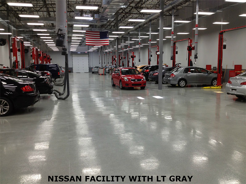 large commercial epoxy floor coatings system | garage floor epoxy
