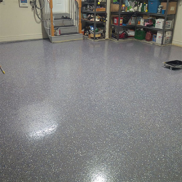 Garage Floor Coating Armor Granite Finish Epoxy Kit