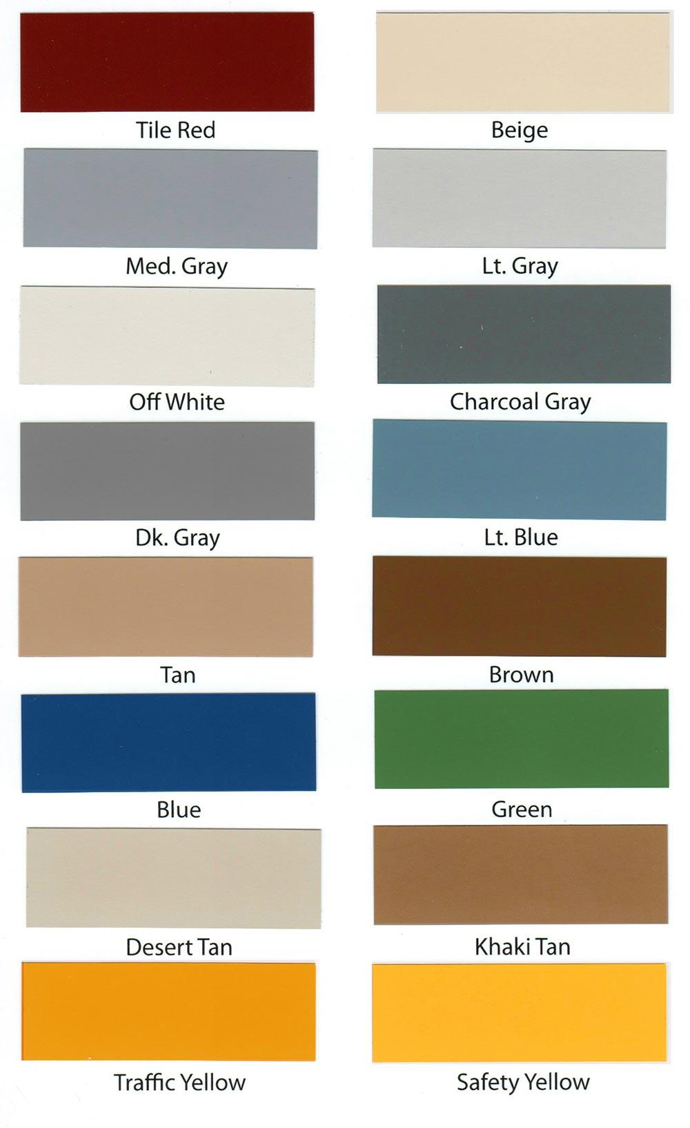Epoxy paint colors armorgarage epoxy paint colors nvjuhfo Image collections