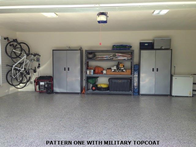Armor Granite floor epoxy Pattern 1