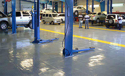interlocking garage floor tiles
