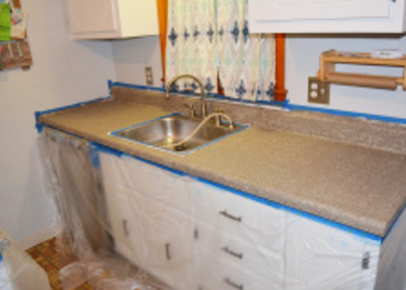 kitchen epoxy countertop