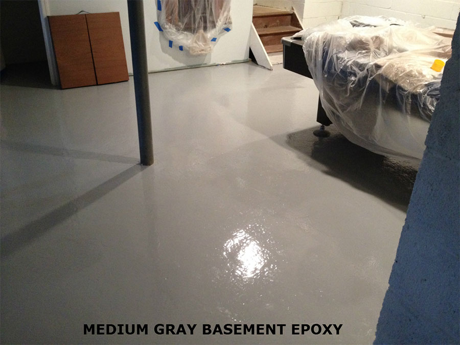 Basement Floor Epoxy Coating Kits