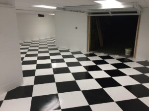 How To Do A Black Amp White Checkerboard Floor Armorgarage